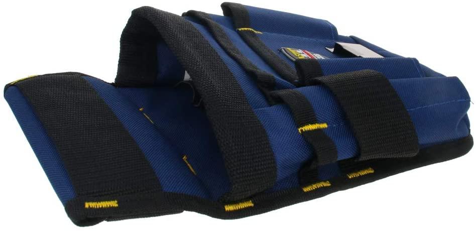 Utoolmart Professional Oxford Canvas Tool Pockets, Fully Adjustable Waterproof & Protective Work Belt 013-3 Large 1Pcs