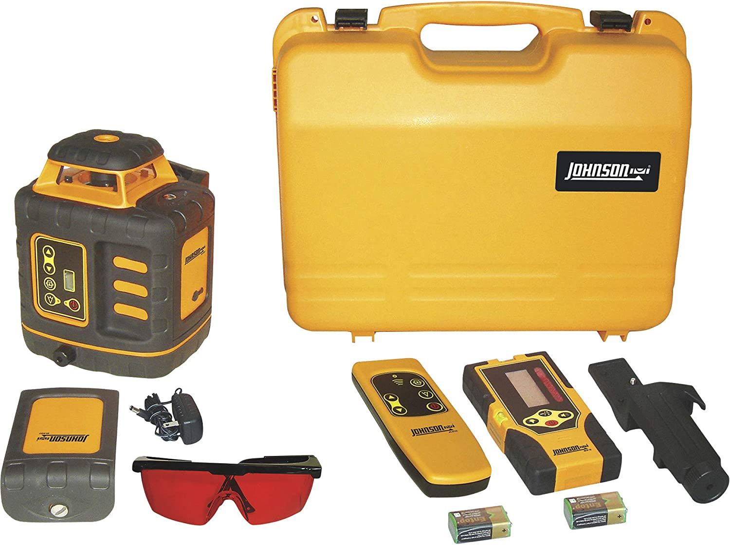 Johnson Level and Tool 40-6532 Self-Leveling Rotary Laser Level