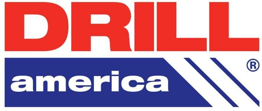 Drill America 1/2 HSS Polished Jobber Length Drill Bit, D/AP1/2