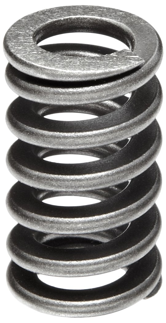 Heavy Duty Compression Spring, Chrome Silicon Steel Alloy, Inch, 0.75