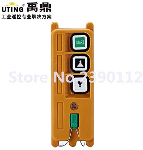 Calvas industrial wireless transmitter redio remote control transmitter F21-2D for hoist crane transmitter