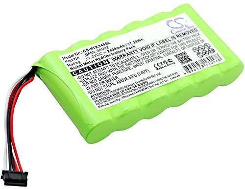 2400mAh Battery for Hioki 3196, Hioki 3197, Hioki 3455