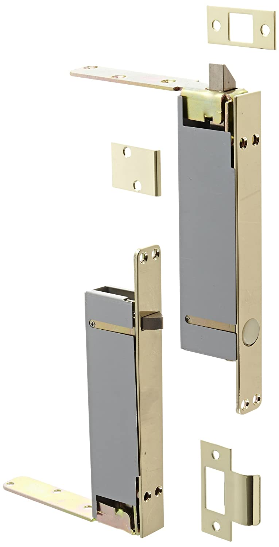 Rockwood 2945.3 Combination Flush Bolt Set for Wood or Plastic Covered Composite Type Fire Doors, 1