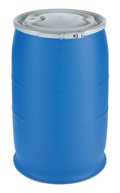 Transport Drum, Open Head, 30 gal., Blue