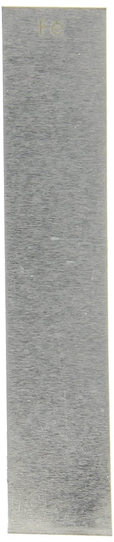 Ajax Scientific Iron Electrode Strip, 130mm Length x 25mm Width