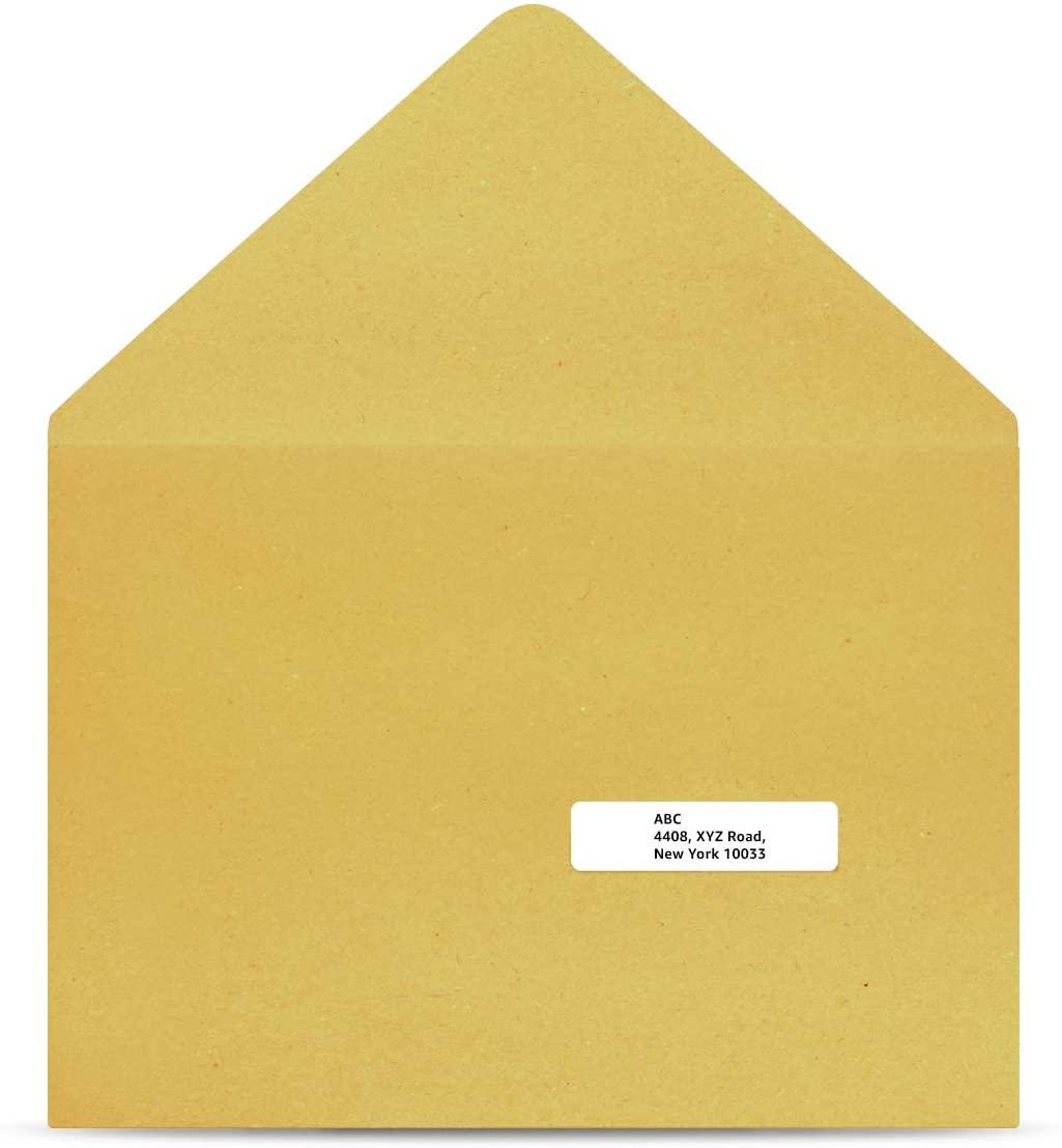 DHgateBasics Return Address Labels for Inkjet Printers, 2/3 x 1-3/4, Permanent Adhesive, 1500-Pack
