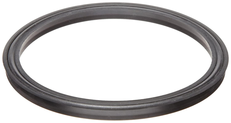 Lip Seal, Square Profile, Buna-N O-Ring Loaded, Urethane, 1/4