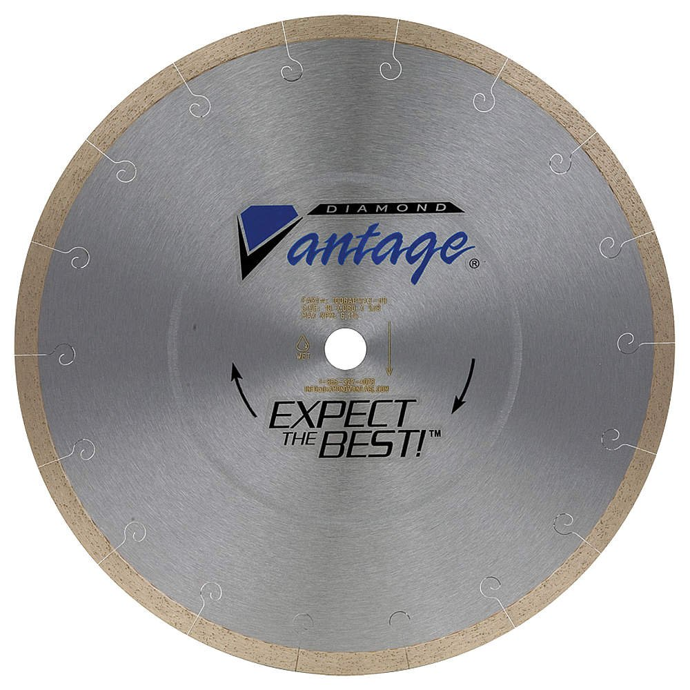 Diamond Saw Blade, Masonry, 10 in. Dia.