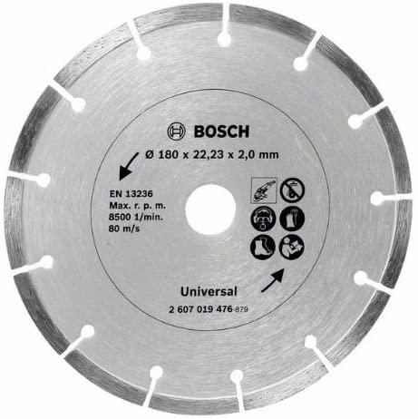 Bosch 2607019476 180mm Promoline Diamond Blade, Silver