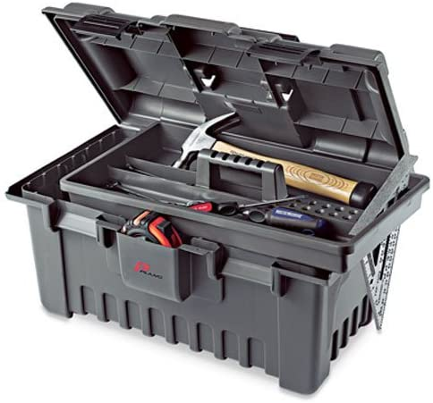 Plano Molding 781 22-Inch BAB Power Tool Box with Tray, Graphite Gray