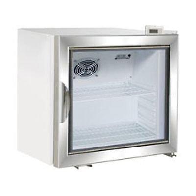 Maxx Cold MXM1-2F X-Series Reach In Freezer Countertop Glass Door Merchandiser