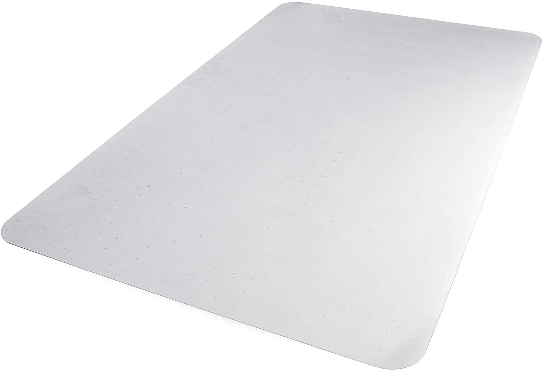 DHgateBasics Polycarbonate Office Carpet Chair Mat, for Thick Carpets, 35