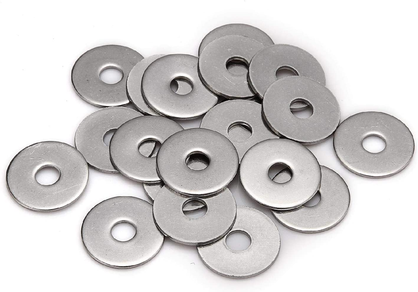 50 x Heavy Duty 3/4'' Table 4, Imperial Flat Washer, BZP for Nuts Bolts & Screws