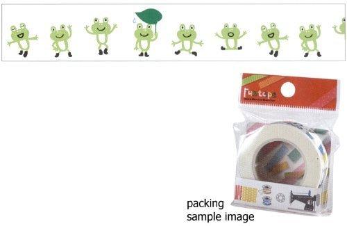 Cute Frog Design Decorative Fun Tape (L:15m X H1.5cm)