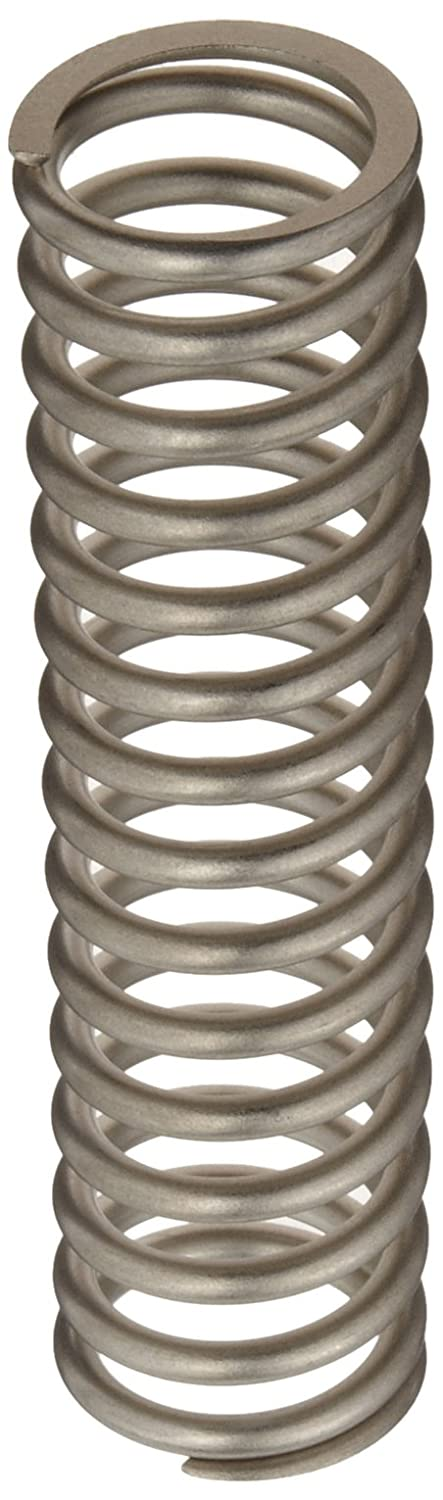 Compression Spring, 302 Stainless Steel, Inch, 1.225 OD, 0.148 Wire Size, 0.913 Compressed Length, 1.25 Free Length, 55.81 lbs Load Capacity, 165.68 lbs/in Spring Rate (Pack of 10)