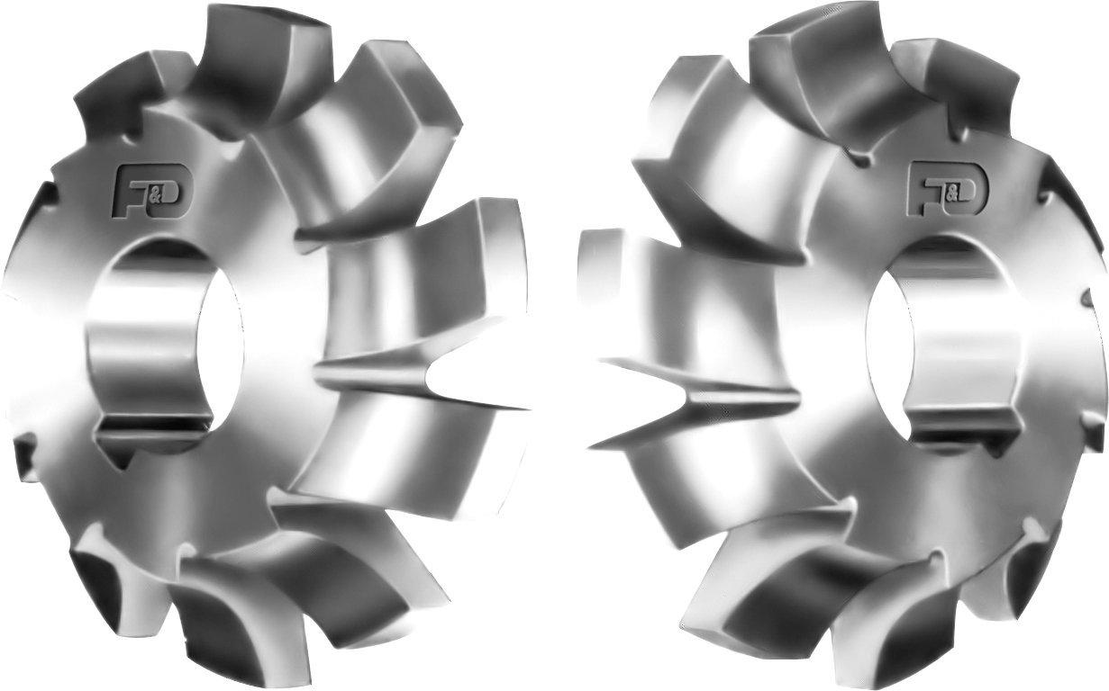 F&D Tool Company 12418-C313L Corner Rounding Cutters, 7/16