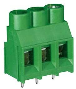 MC002067 - Wire-To-Board Terminal Block, 6.35 mm, 2 Positions, 24 AWG, 10 AWG, Screw, (Pack of 20)