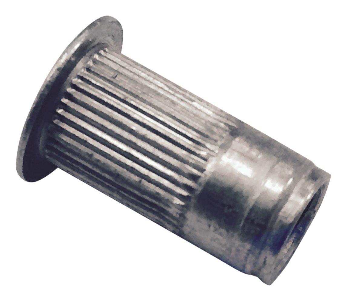 AVK Industrial ALA1-832-80 AL-Series Insert, Thread Size 8-32, Silver
