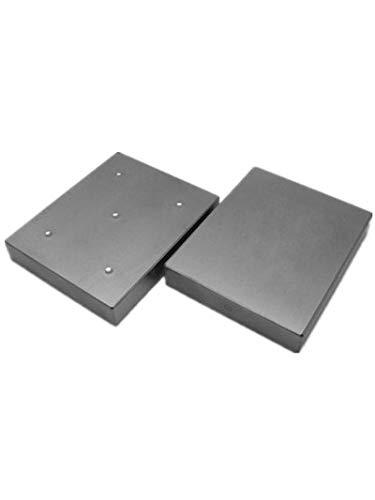 MeterTo 1pcs Professional Brinell Hardness Block 150-600HBW5/750 Rectangle Hardness Test Block