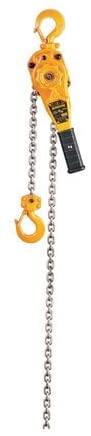 Lever Chain Hoist, 1500 lb, Lift 5 ft.
