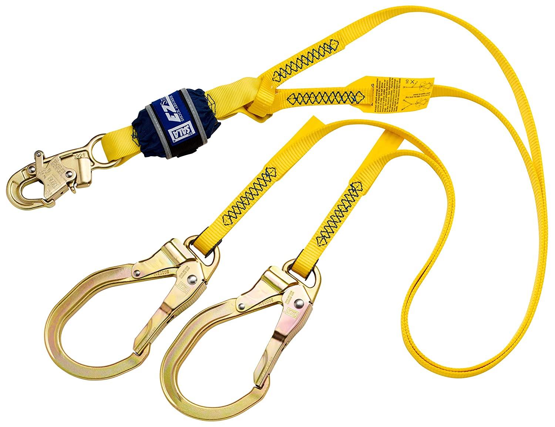 3M DBI-SALA EZ-Stop 100% Tie-Off Shock Absorbing Lanyard 1246027, 1 EA