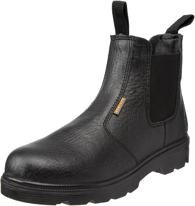 Sterling Safetywear Work Site SS600SM Black 9 UK Wide