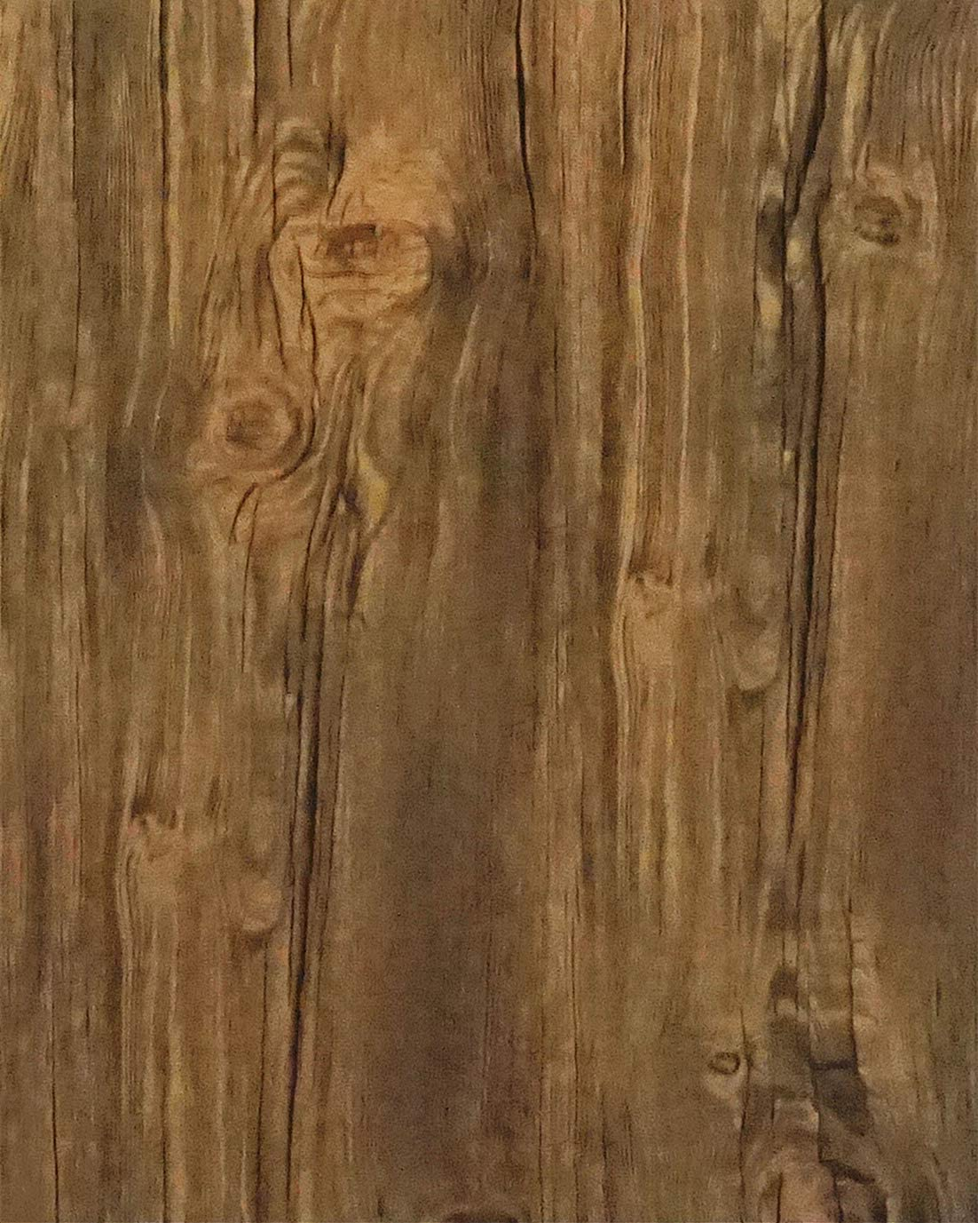 Brown Wood Wallpaper Brown Self Adhesive Wallpaper Stick and Peel Vintage Distressed Rustic Weathered Wood Grain Wallpaper Peel and Stick Wallpaper Removable Roll Vinyl Wall Covering 17.7x118in