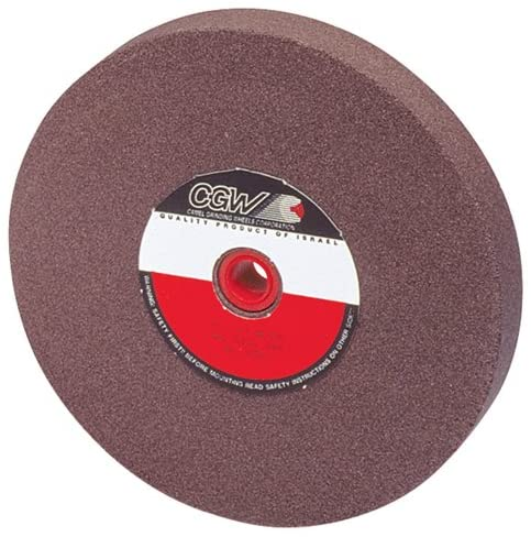 CAMEL Brown Aluminum Oxide Bench And Pedestal Grinding Wheel - Size: 14