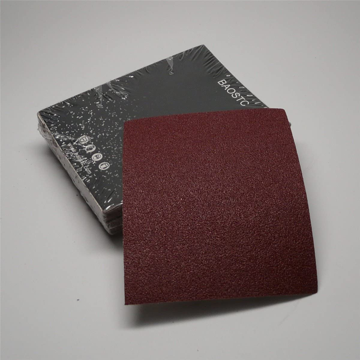BAOSTC 1/4 sandpaper sheet,4-1/2