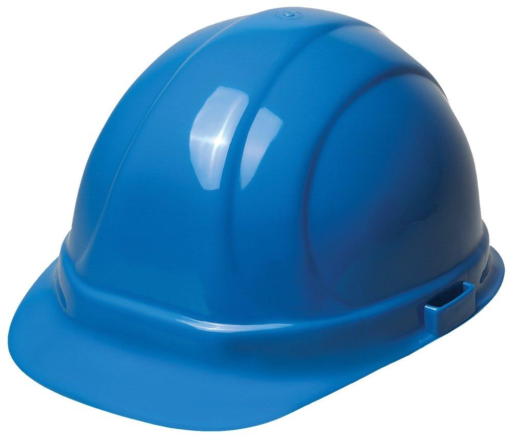ERB Safety 19956 Omega II Cap Style Hard Hat with Mega Ratchet, Polyethylene, Adjustable, Blue
