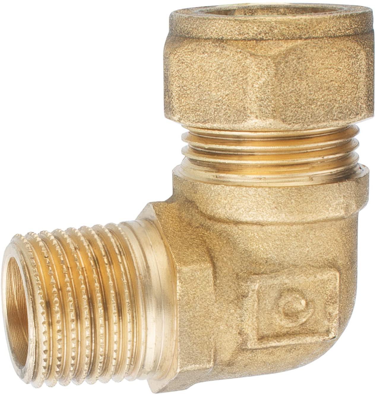 CORNAT TEC584019 ET 1/2-inch x 18mm Brass Angle