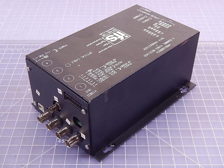 Ifs Ge Vr6010Drdta 4 Channel Fiber Video Transmitter Data Transceiver