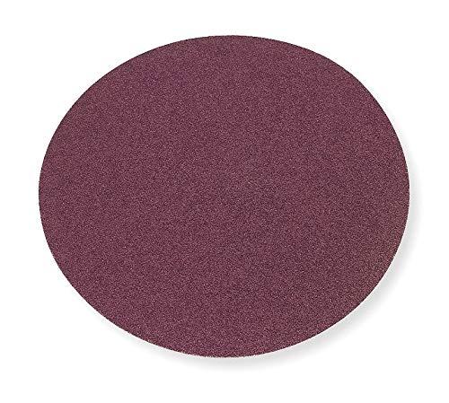 PSA Sanding Disc, AlO, Cloth, 10 In, 60 Grit