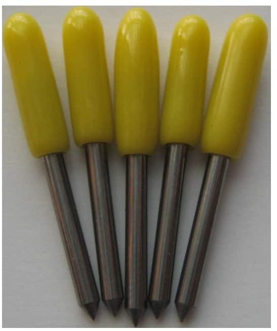 15pcs Summa D cutting plotter vinyl cutter blade knife needle 1.5mm diameter 30° 45° 60° mix each 5pcs