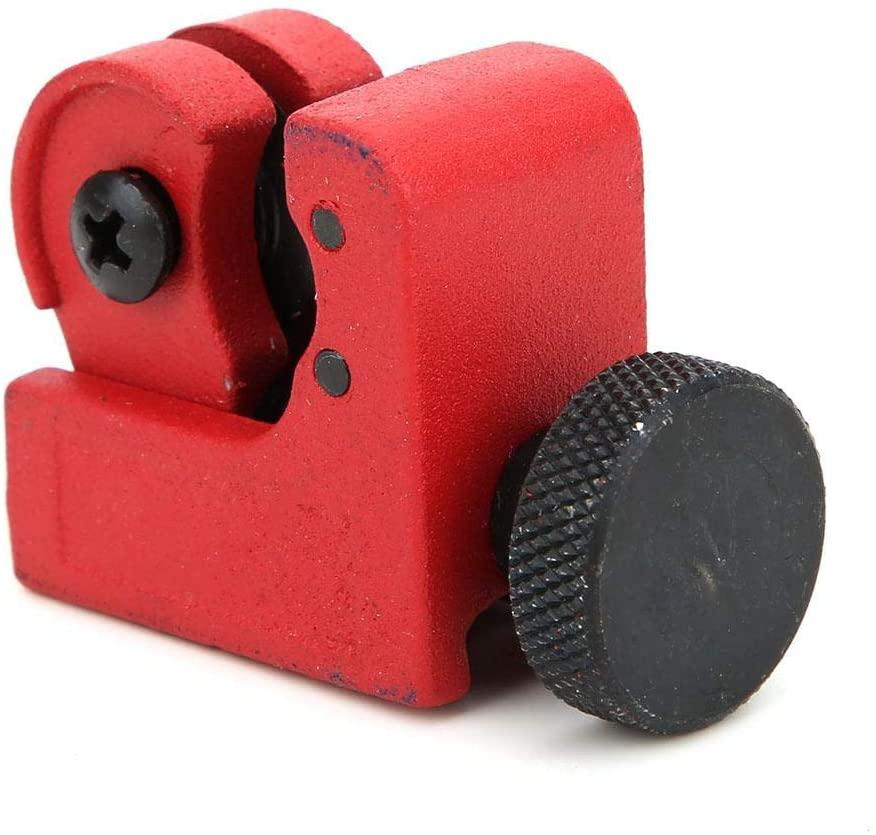Tbest Arrow Cutter, Small Alloy Arrow Cutter Carrying Broken Arrow Repair Accessories (Red)