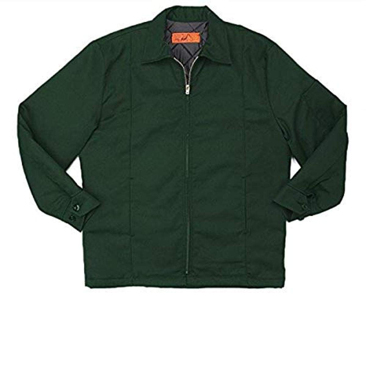 Pinnacle Textile JL14 7.5 OZ Twill, 65/35 Polyester/Cotton, Panel Jacket-XX-Large-Spruce Green