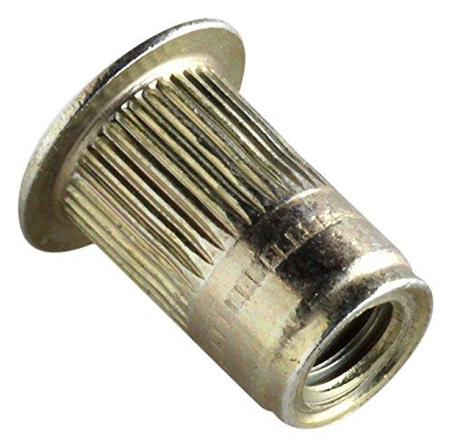 AVK Industrial ALS4T-1015-7.9 AL-Series Insert, Thread Size M10-1.5, Yellow