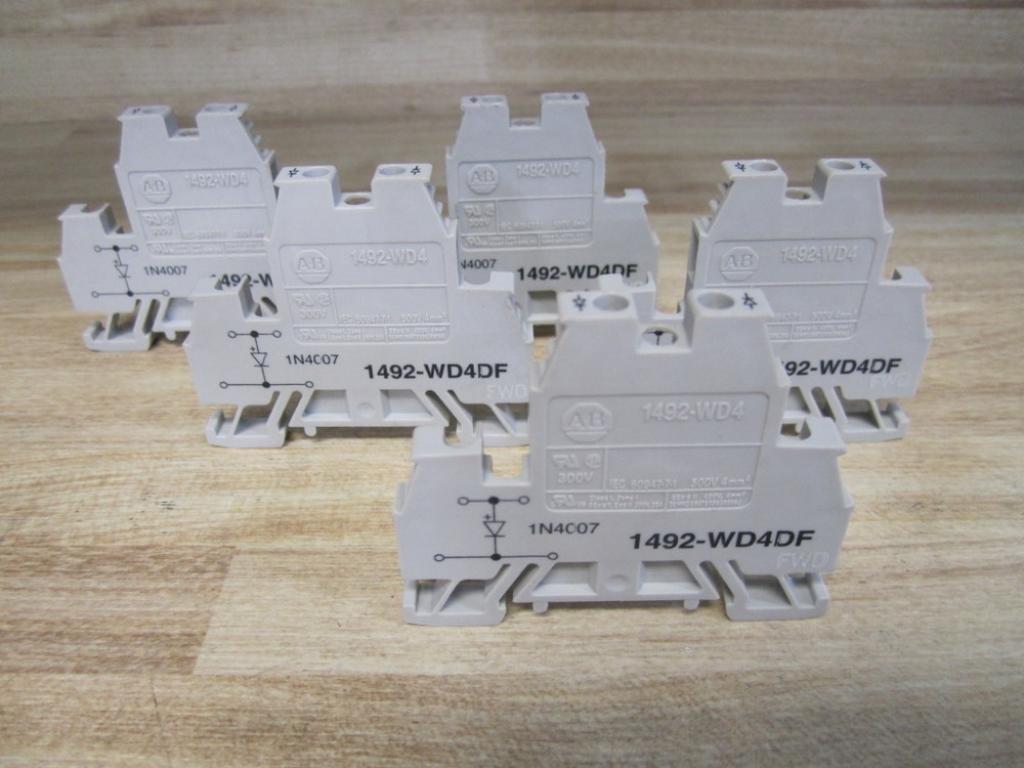 Allen Bradley 1492-WD4DF Diode Block (Pack of 5)