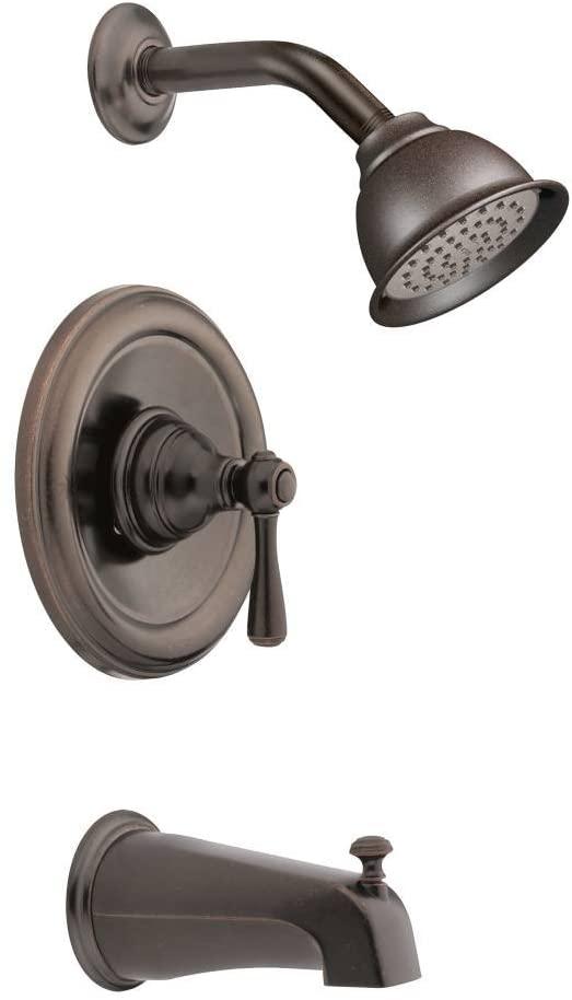 Moen T2113EPORB-2520 Kingsley Posi-Temp Tub/Shower Valve Trim Kit with Valve, Oil Rubbed Bronze