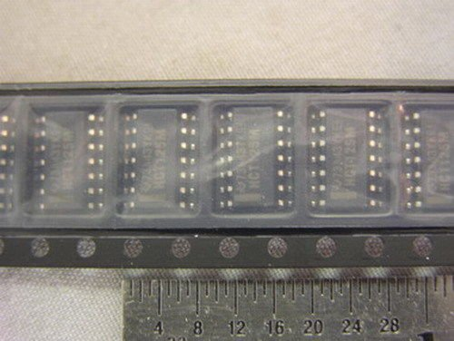 100 TI CD74HCT125M96 High-Speed CMOS Logic Quad Buffer Three State 14-SOIC