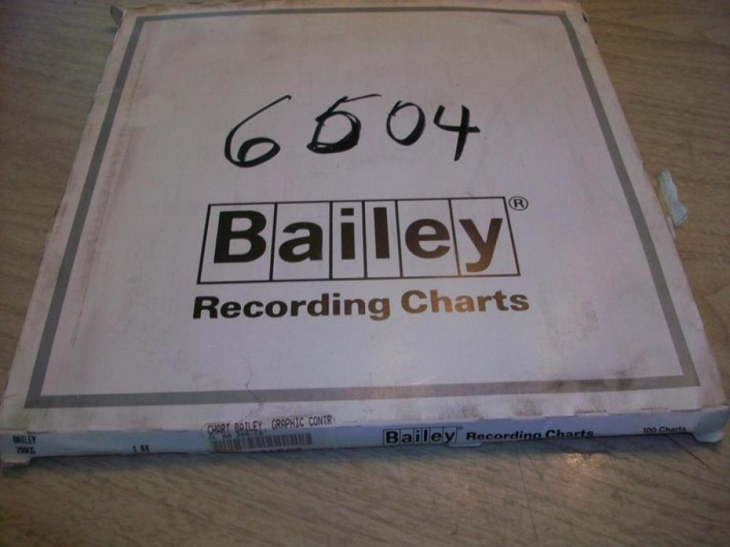 Graphic Controls 200C6 Recording Charts