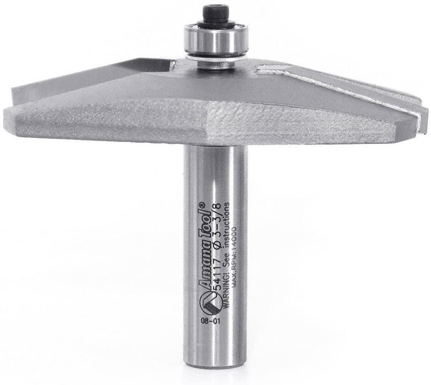 Amana Tool - 54117 Carbide Tipped Traditional Raised Panel 15 Deg x 1-7/16 Angle x 3-3/8 D