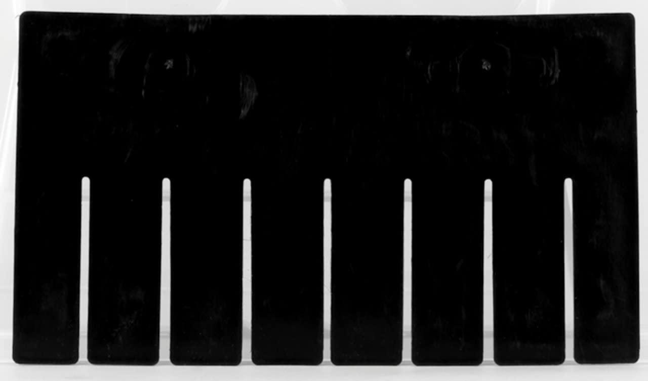 Akro-Mils 41228 Short Divider for 33228 Akro-Grid Slotted Divider Plastic Tote Box, Pack of 6