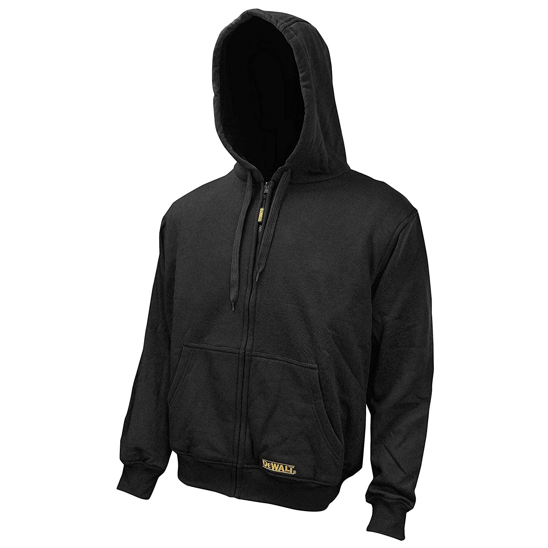 Radians DCHJ067B-2XL Black Heated Polyester Hoodie, 2XL-Large