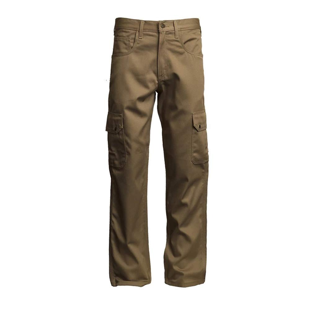Lapco FR P-INCKHT9 44X34 100% Flame-Resistant Cotton Cargo Pant, Capacity, Volume, Cotton, 44