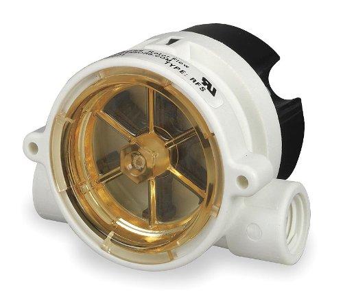 Liquid Flow Switch, Rotor, SPDT, 35mA/95mA