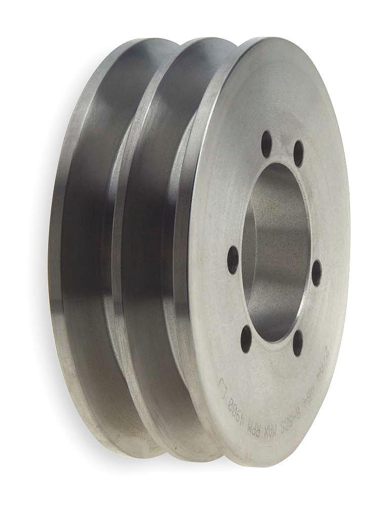 V-Belt Pulley, 10.3 In OD, 2GRV