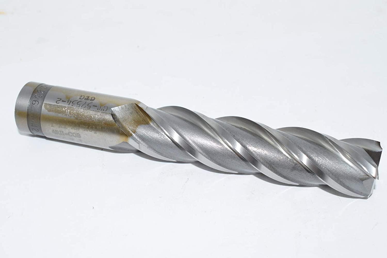PCTI 4RH-COB 1'' x 1'' x 4'' x 6-1/2'' 4FL End Mill