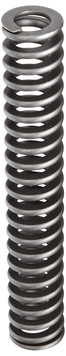 Heavy Duty Compression Spring, Chrome Silicon Steel Alloy, Inch, 0.75 OD, 0.093 x 0.156 Wire Size, 4.5 Free Length, 3.375 Compressed Length, 110lbs Load Capacity, 100lbs/in Spring Rate  (Pack of 5)