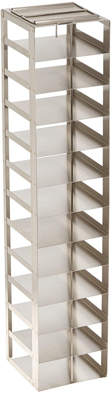 Alkali Scientific CF-12-2 Stainless Steel Vertical Rack for 2